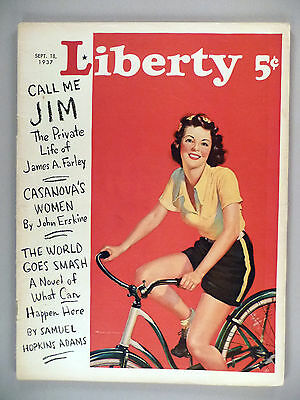 Liberty Magazine - September 18, 1937 ~~ Mister Ed, the Talking Horse ~ Mr. Ed