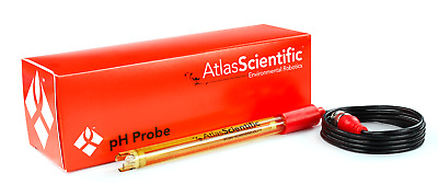 Atlas Scientific pH Meter Probe, pH Sensor Electrode BNC Connector