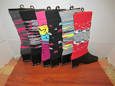 Women's Leg Warmers  Knee High Footless Winter Different Design To Choose 1 Pair