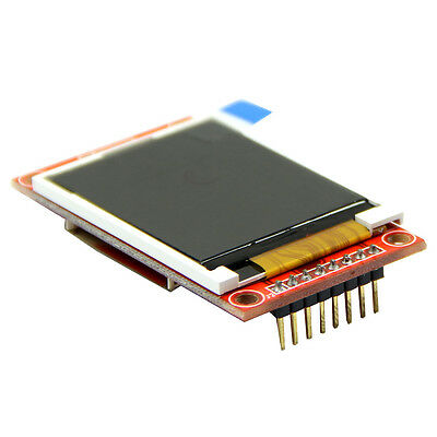 "PCB Adapter Power IC SD Socket + 1.8"" Serial 128X160 Module SPI TFT LCD Display"
