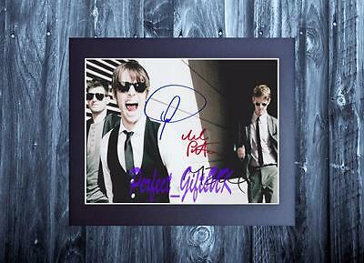 """Foster The People Band 10X8"""" AUTHENTIC HAND SIGNED AUTOGRAPHED PHOTO +COA"""