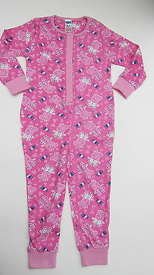 Girls Peppa Pig Pink Pjs Pyjamas 3 Designs Bnwot Ages 2-8