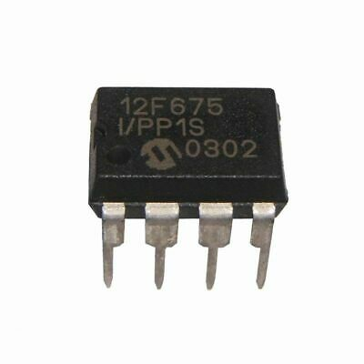 Microchip PIC12F675-I/P 8-pin PIC microcontroller - UK STOCK, UK SELLER