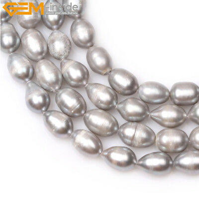 """Potato Freshwater Pearl Loose Beads For Jewelry Craft  Making Strand 15"""" DIY"""