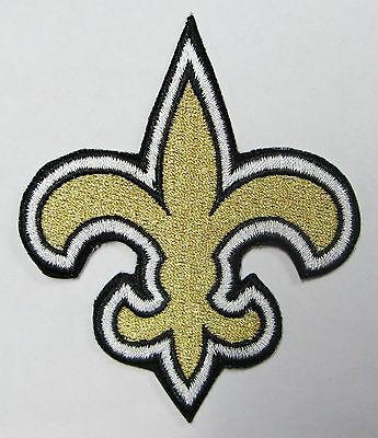 Lot Of (1) Nfl New Orleans Saints Patch  Iron-On Team Logo (Large) Item # 24