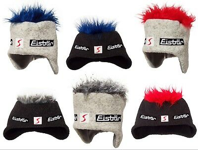 NEW - EISBAR COCKER SP Funky Hairy Austrian Winter Sports Ski Hat with Ear Flaps