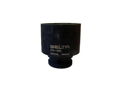 """Professional 1/2"""" Dr. Drive Cr-V Socket Option: 33,34,35,36mm Made in Taiwan"""