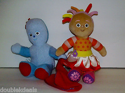 In The Night Garden Plush Toys Igglepiggle Upsy Daisy Doll
