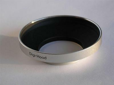 Professional Quality Wide Angle 28Mm Metal Lens Hood Shade For Wide-Angle Lens