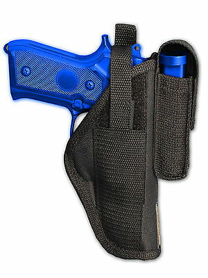 New Barsony Tactical Leg Holster w// Mag Pouch Bersa Compact 9mm 40 45