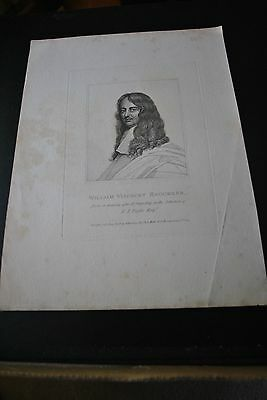 1798 Image Of William Viscount Brounker Published By S. Harding In Soho
