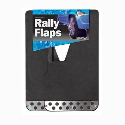 Sports Rally /  Race Mud Flaps / Mudflaps- Set Of 2 Black