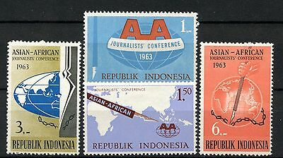 Indonesia 1963 SG#958-961 Journalists Conference MH Set #A51504