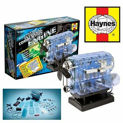 Haynes Internal Combustion Engine Model Kit Build Your Own With Sounds & Lights