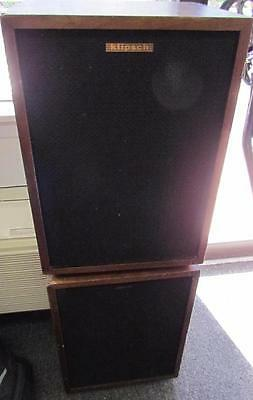 Pair of Vintage Klipsch Heresy Speakers  **LOCAL PICK UP ONLY**