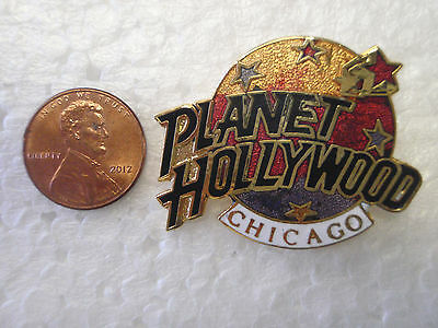 Planet Hollywood pin CHICAGO      Lapel  Hat