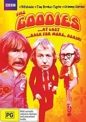 The Goodies: At Last DVD R4 New Sealed