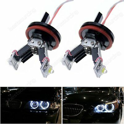 Canbus Led Bmw E60 E82 E87 E90 E92 H8 6W Angel Eyes Marker Halo Head Light Bulbs