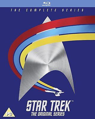 STAR TREK COMPLETE the ORIGINAL SERIES SEASONS 1, 2 & 3 Blu Ray Box Set RB