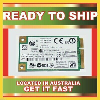 Genuine 480985-001 Hp Wifi 802.11 A/b/g Mini Pcie Card For 2200 6500 6700