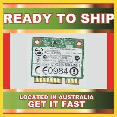 GENUINE BCM94312HMGB BROADCOM 802.11B/G/N WLAN PCI-E MINI CARD FOR Mini 110 210