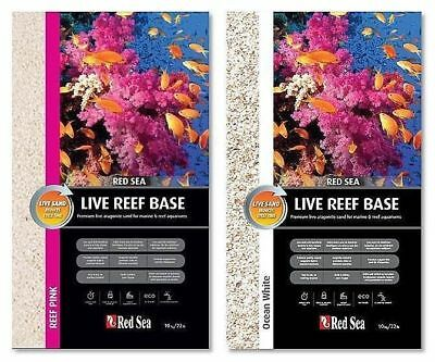 RED SEA LIVE REEF BASE MARINE SAND 10kg / 20kg AQUARIUM CORAL SUBSTRATE TANK