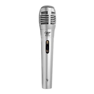 Pyle PDMIK1 Professional Moving Coil Dynamic Coil Handheld Microphone
