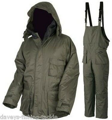 PROLOGIC ALL GREEN THERMO COMFORT 2pc SUIT FISHING HUNTING SKIING HIKING CAMPING