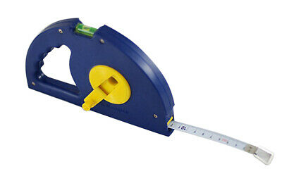Steel Measuring Tape Measure with Level Vial 10m/20m/30m + 3m Tape Free Gift