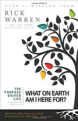 The Purpose Driven Life: What on Earth Am I Here For? - Paperback NEW Warren, Ri