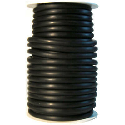 50 Foot >>> 1/4 ID x 3/32 w x 7/16 OD <<<  LATEX TUBING SURGICAL RUBBER BLACK