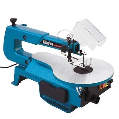 """Clarke CSS16VB 16"""" Scroll Saw. A delight for hobbyists and creative woodworkers"""