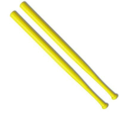 Wiffle Ball Bats Official Brand Name Yellow Plastic Bat 2-Pack