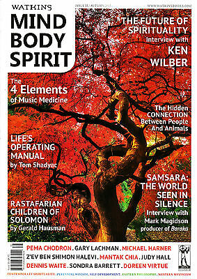 Watkins MIND BODY SPIRIT 35 KEN WILBER Gary Lachman JUDY HALL Music Medicine NEW