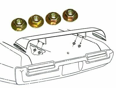 69-71 Pontiac GTO Judge Trunk Lid Rear Wing Spoiler Mounting Nuts With Washer