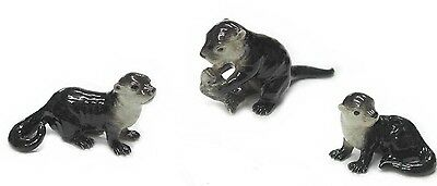 R296 - Northern Rose   Sea Otter Pups - Set of 3