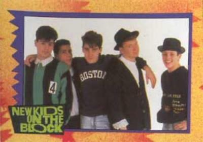 New Kids On The Block 1990 Trading Card Set