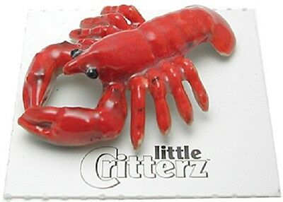 "LC940 - little critterz - Red Lobster named ""Pincer"" (Buy 5 get 6th free!)"
