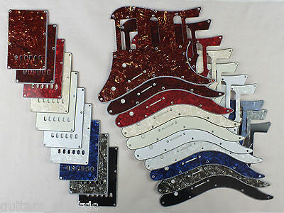 SCRATCH PLATE HSS Pickguard SET for YAMAHA PACIFICA Electric Guitar 10 Colours
