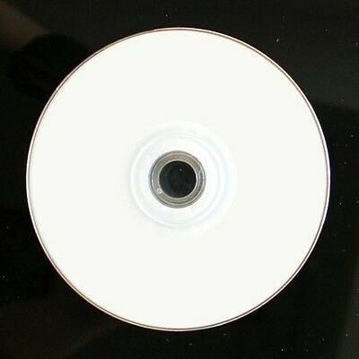 100 Pieces (50pk x 2) 16X White Top DVD-R DVDR Blank Media Disc 4.7GB