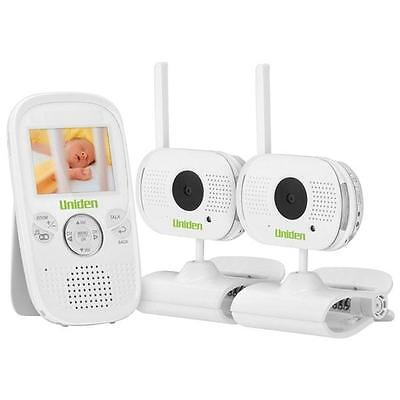 "Uniden Bw3002 2.3"" Digital Wireless Baby Video Monitor 2 Cameras Included Baby"