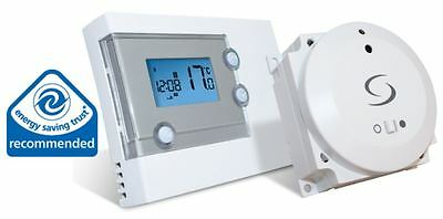 Salus RT500BC Digital Wireless Programmable Room Thermostat for Combi Boilers