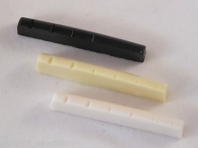 42mm/43mm RESIN NUT for Gibson or Epiphone Style Guitars in 3 Colours