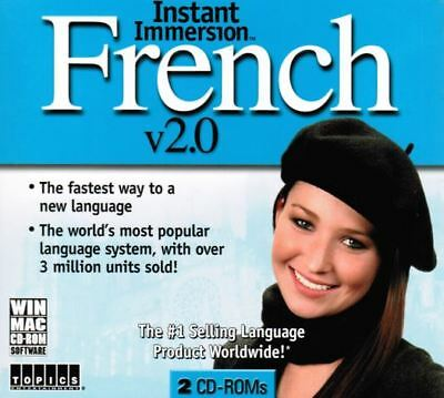Instant Immersion French 2 BRAND NEW PC or MAC W98-XP