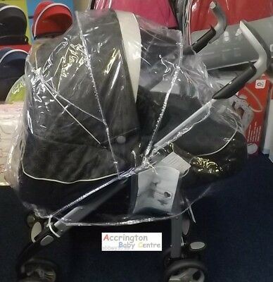 Universal Travel System Raincover Zipped Rain Cover Fit All Make Travelsystem