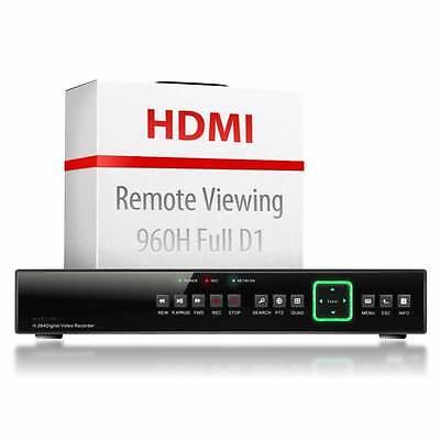8 Channel HDMI DVR CCTV Security D1 Digital Video Recorder Real Time 960H H264