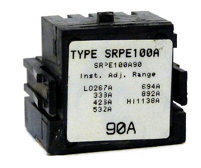 General Electric SRPE100A90 90A Rating Plug *1 YEAR WARRANTY*