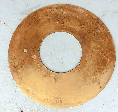 IBM/Burroghs 5mb Disk Platter ???? **Extremely Rare**Gold Plated MUSEUM Grade