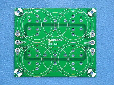 1PCS Capacitor Filter PCB, for Upgrade Audio AMP