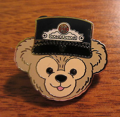Disney 2012 Hidden Mickey Completer Pin Duffy Hat Conductor
